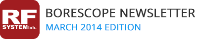 RF System Lab Borescope Newsletter